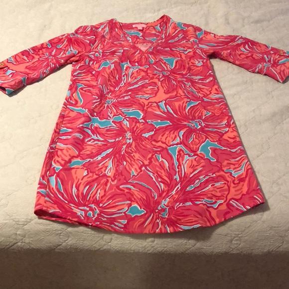 9b28b6b1d6a Lilly Pulitzer Dresses & Skirts - Lilly Pulitzer Arielle Tunic Dress Size XS